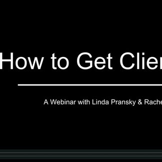 How to Get Clients Webinar