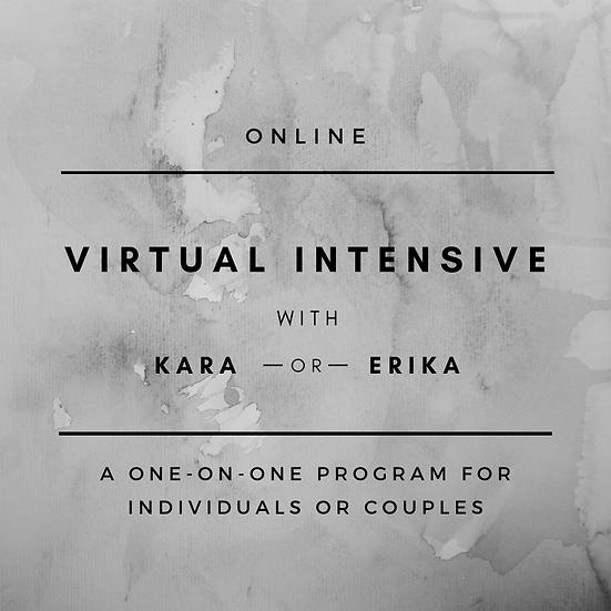 Virtual Four Day Intensive with Kara or Erika