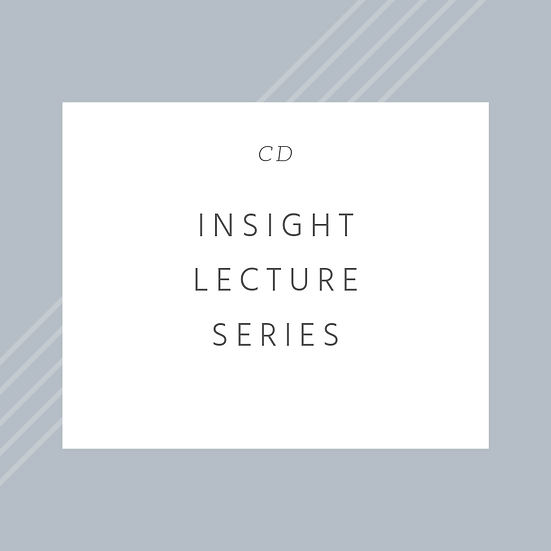 INSIGHT Lecture Series