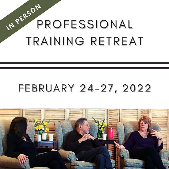 In Person Professional Training Retreat