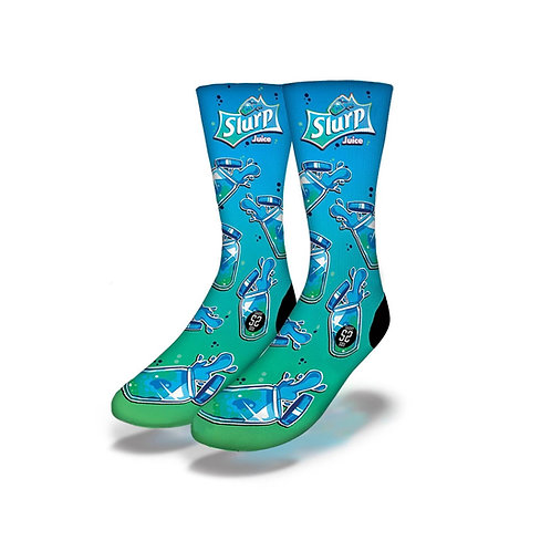 Fortnite Juice Socks Blue