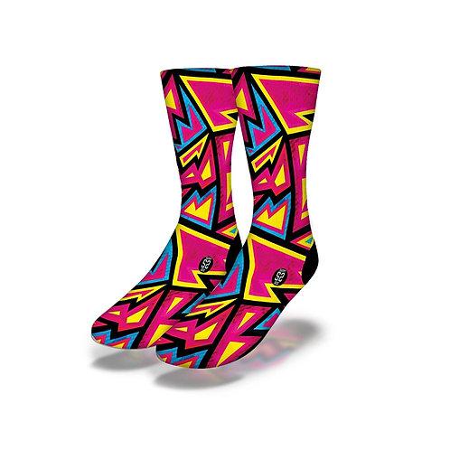 Graffiti Psychedelic Socks