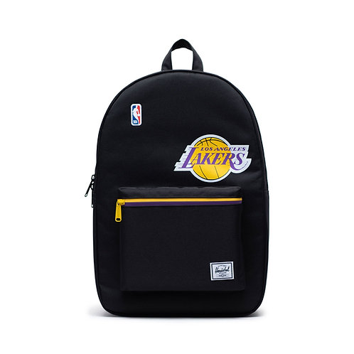 Herchel Supply Backpack Los Angeles Lakers Black/Gold/Purple