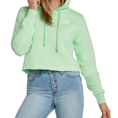 Dickies Girl Cropped Hoodie Mint
