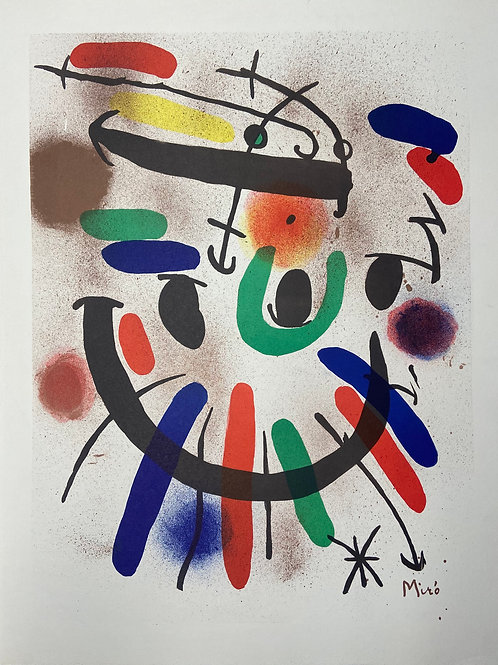 Lithographe I by Joan Miró