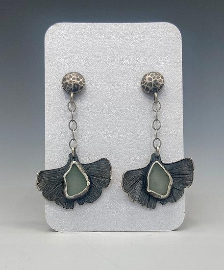 Gecko Leaf Earrings