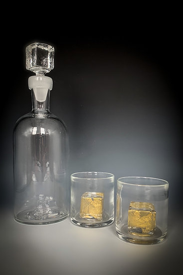 Decanter and Rocks Glass (Sold Seperately)