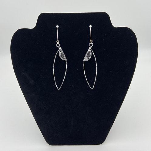 Leaf Droplet Earrings