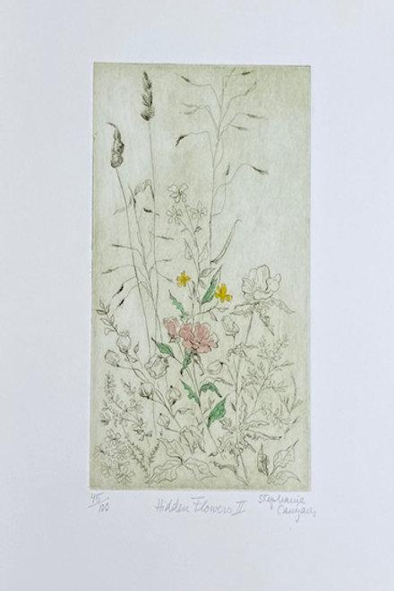 Hidden Flowers II by Stephanie Canizares