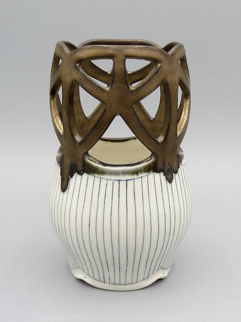 Small Cutout Vase