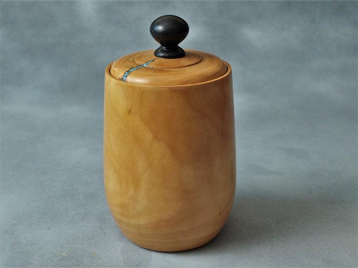 Pear Jar w/ Turquoise