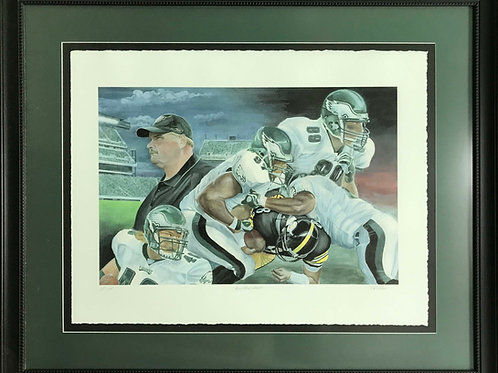 Art | Sports Art | Philly | Eagles |