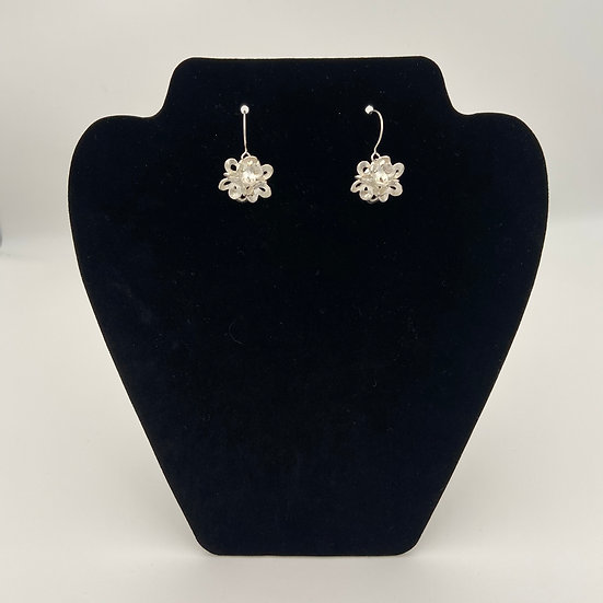 Snowball Earrings