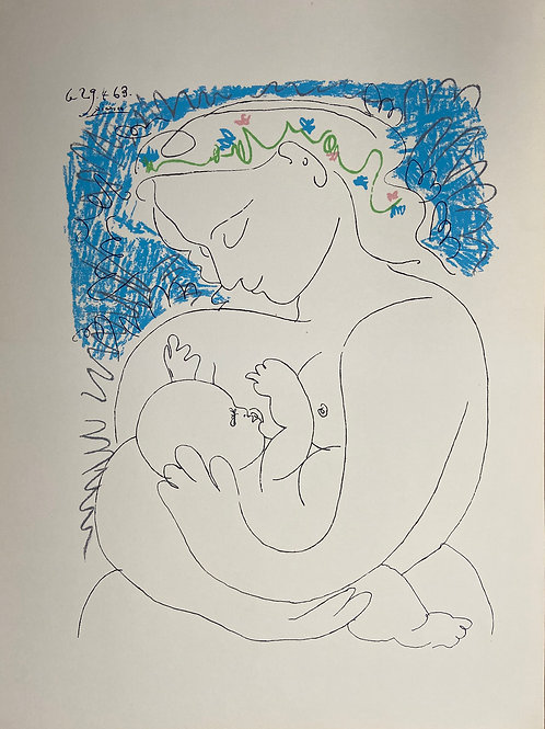 Grande Maternite by Pablo Picasso