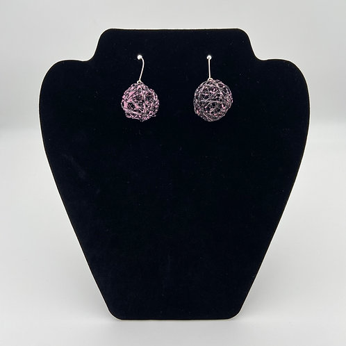 Pink Color Play Earrings