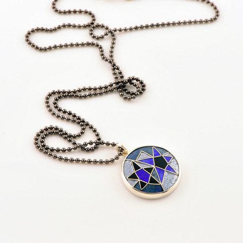Celestial Silver Pendant