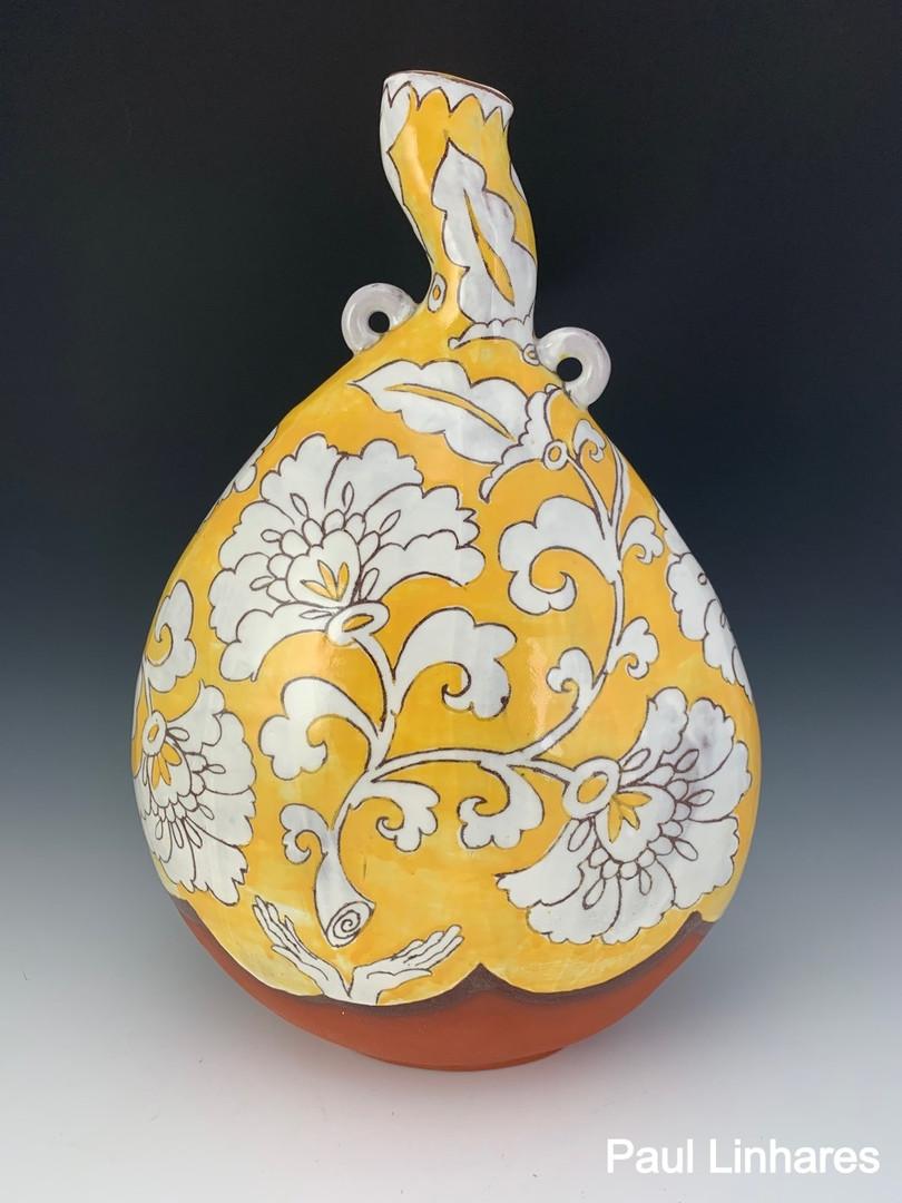 Yellow Pilgrim Vase