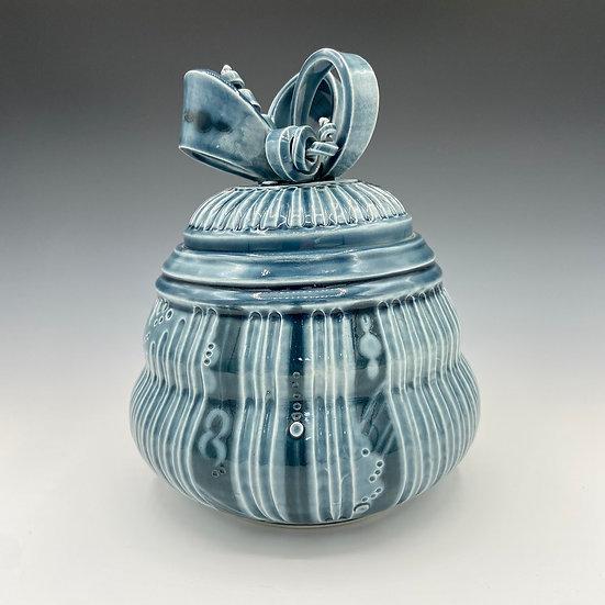 Ribbon Jar