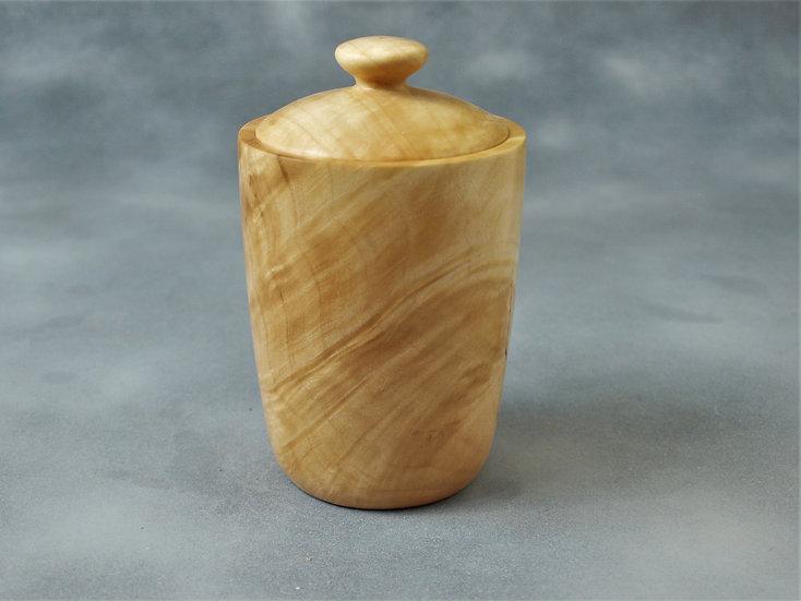 Maple Burl Jar