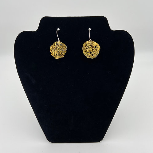 Yellow Color Play Earrings