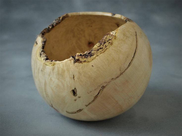 Boxelder Natural Edged Bowl