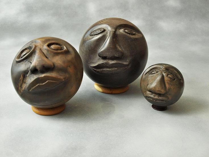 Medium Olmec Face (sold separately)