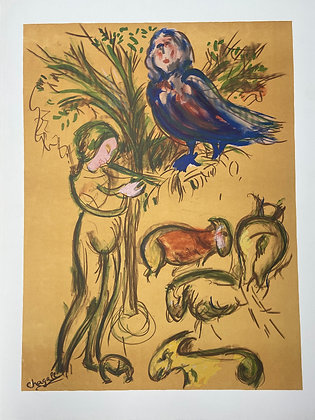 Magic Flute by Marc Chagall