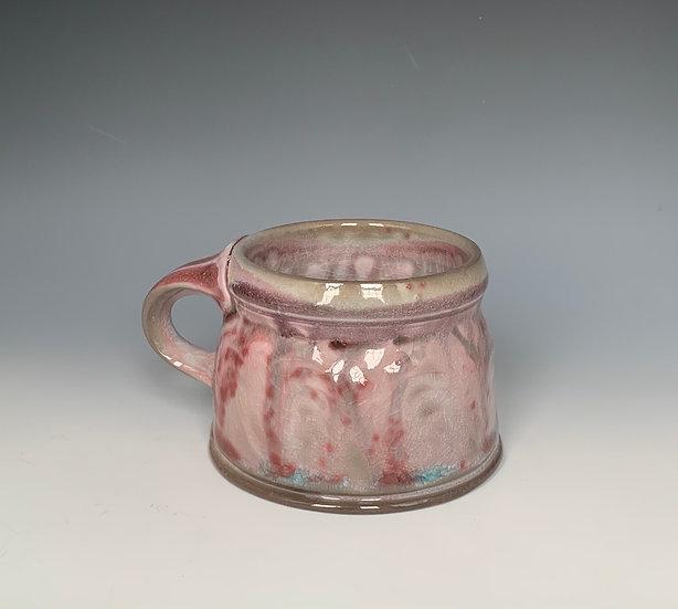Stamped Peach Bloom Mug