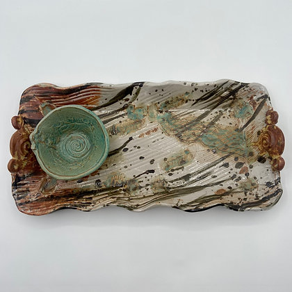 Tray with Small Bowl