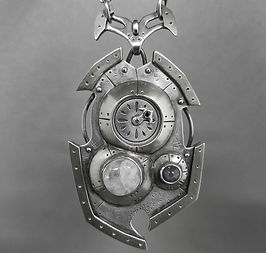 Powered pendant.moonstonesapph.front_edi