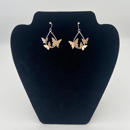 Butterfly Cloud Earrings