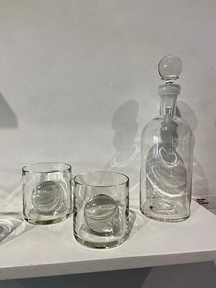 Sphere Decanter and Rocks Glass (Sold Seperately)