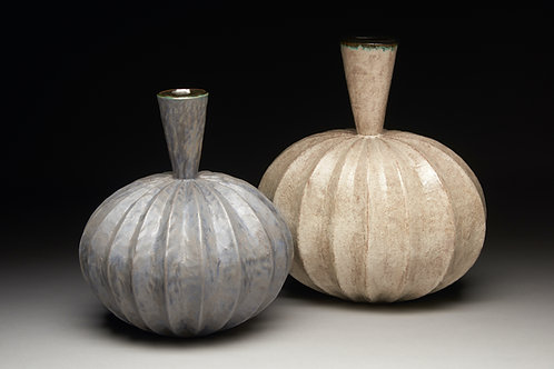 White and Purple Vase