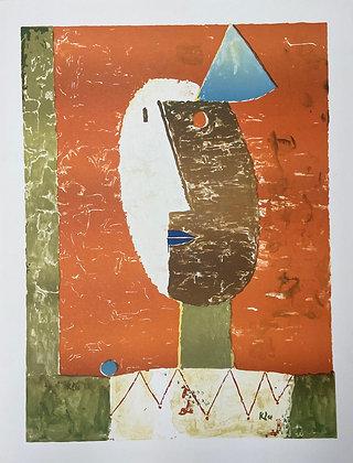 Clown (1929) by Paul Klee
