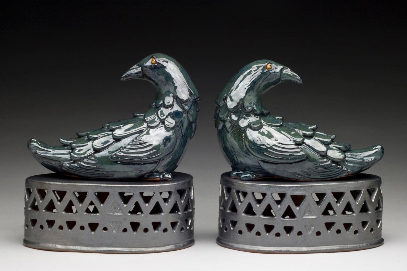 Pair of Ravens by Lynne Lofton