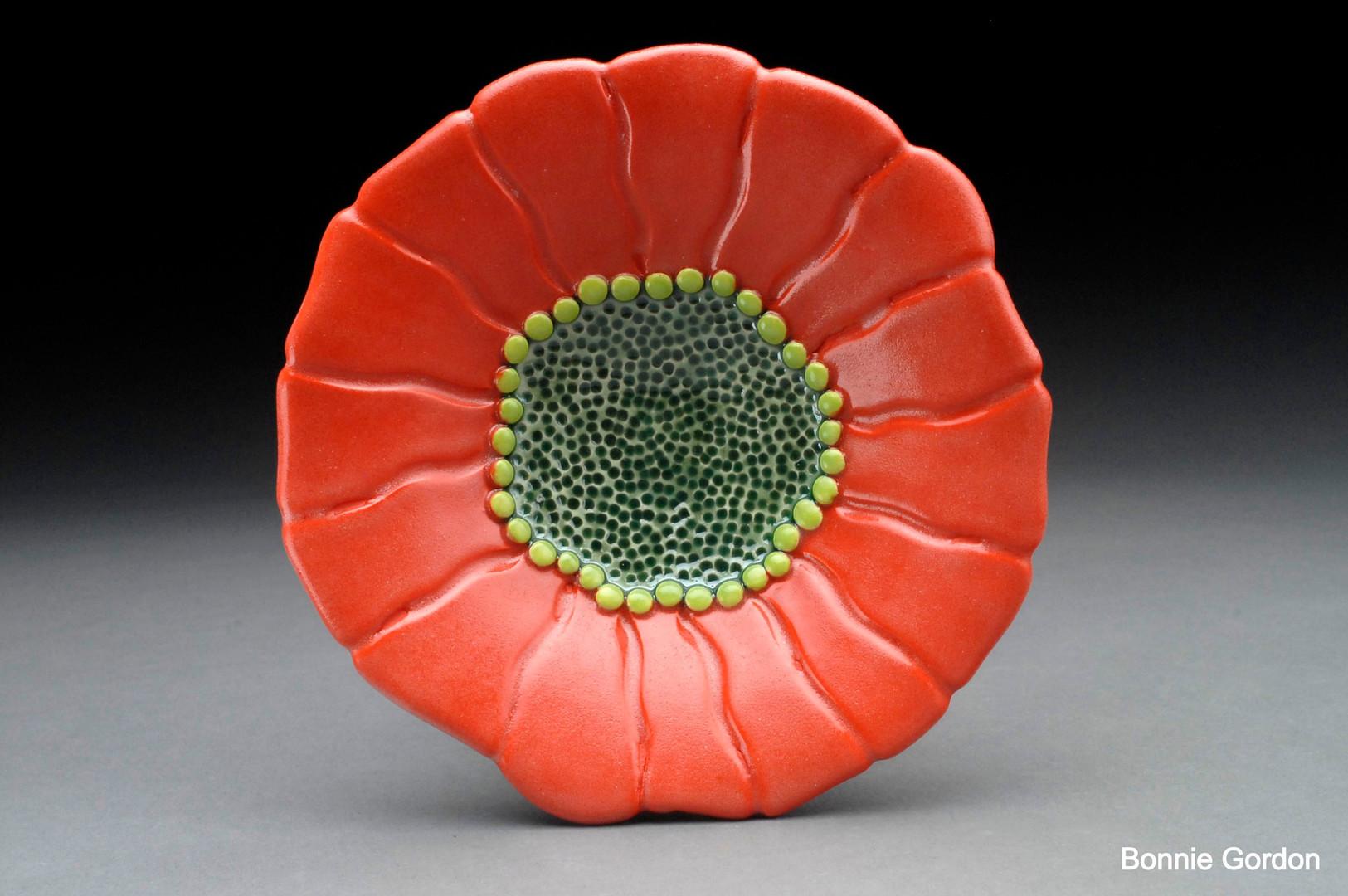 Carved Flower Bowl