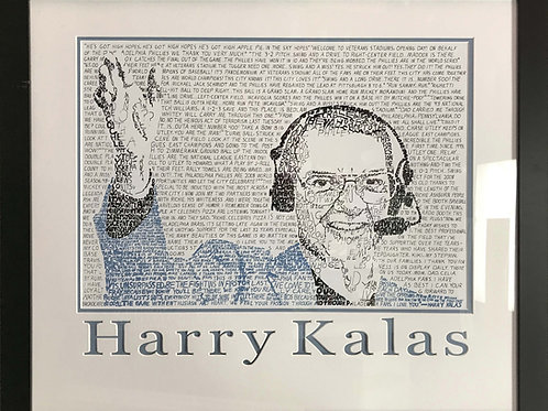 Art | Engraved Art | Caligraphy | Harry Kalas