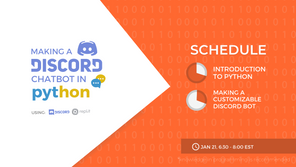 Intro to Python Workshop: Building a Discord Chatbot!