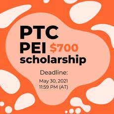 PTC PEI 2021 Scholarship