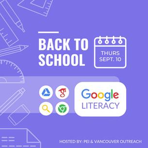 Google Literacy Workshop