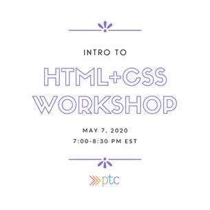 HTML/CSS Workshop