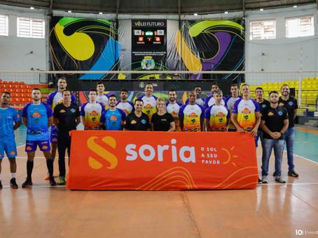 Soria Solar é a nova patrocinadora do Vôlei Futuro