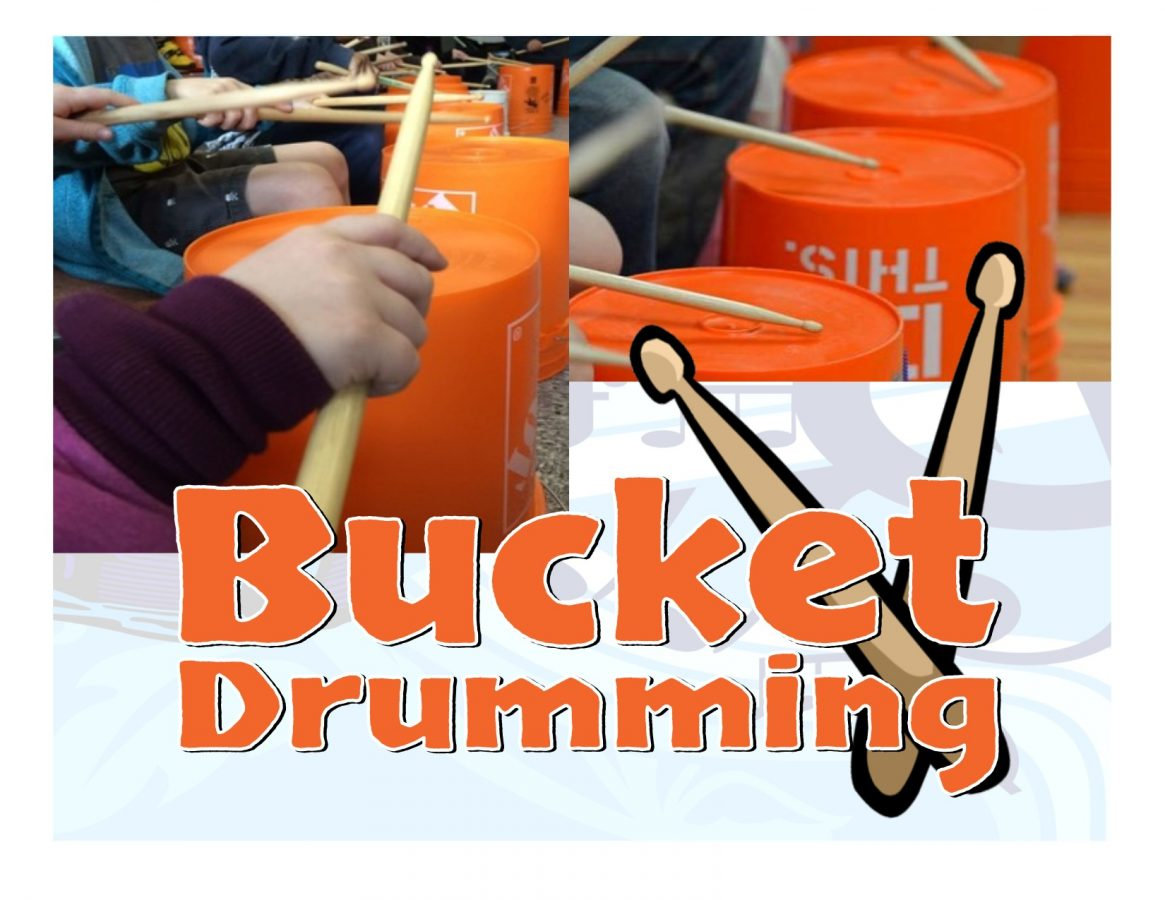 Bucket Drumming 101 ages 5-10