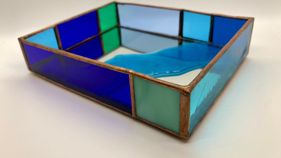 Stained Glass Shadow Box