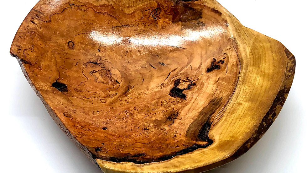 Medium Cherry Burl Platter