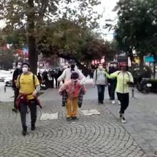 Maraton Göztepe Parkı'ndan başladı