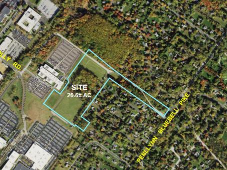 Parcel D - a developer has ideas for different zoning