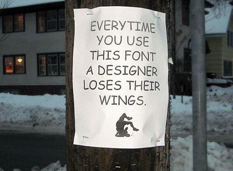 The 3 Worst Fonts. Ever.