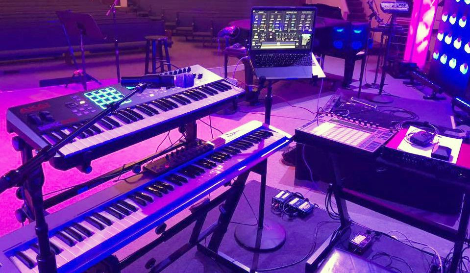 Modern Worship Keyboards
