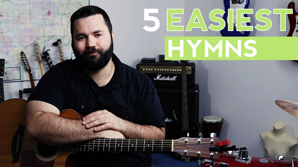 The 5 easiest hymns to play on guitar